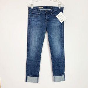 AG | The Stevie Cuff slim straight skinny jeans 29